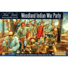 FIW-01 Woodland Indian War Party Box Set