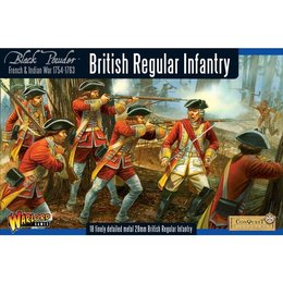 FIW-02 British Regular Infantry Box Set