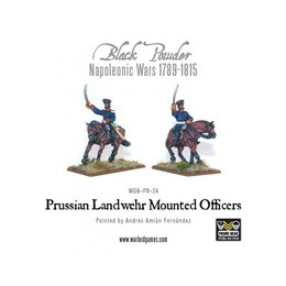 PR-24 Prussian Landwehr Mounted Officers