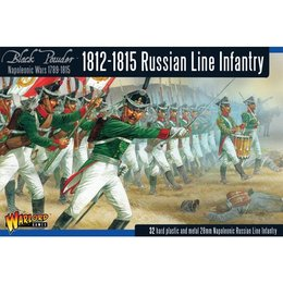 RU-02 Russian Line Infantry 1812-1815 Box Set