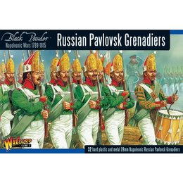 RU-03 Russian Pavlovsk Grenadier Regiment Box Set