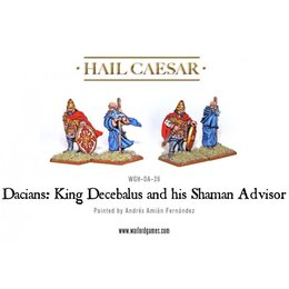 DA-26 Dacian King Decabalus and his Shaman