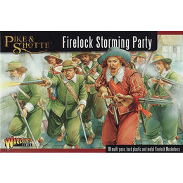 English Civil War Firelock Storming Party Box Set