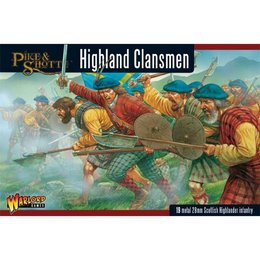 English Civil War Highland Clansmen Box Set