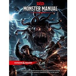 Dungeons & Dragons 5e RPG Monster Manual