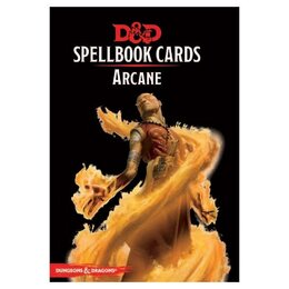 D&D Spellbook Cards Arcane Deck- Revised 2017 Edition