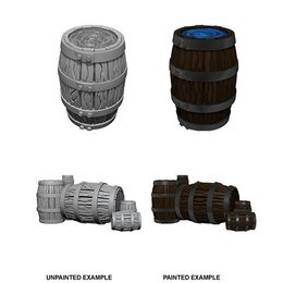 Barrel & Pile of Barrels