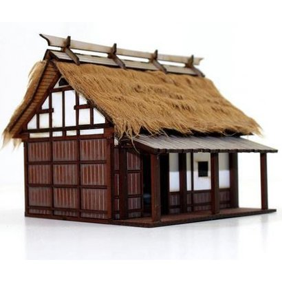 Shogunate Peasant Smallholder's Cottage