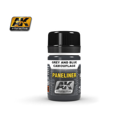 AK-2072 Paneliner for Grey & Blue Camoflage