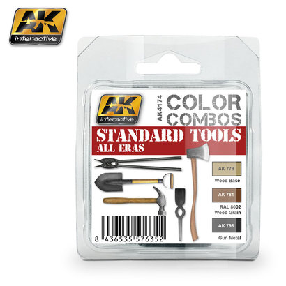 AK-4174 Standard Tools Paint Set
