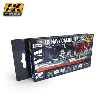AK-5000 US Navy Camouflages Set