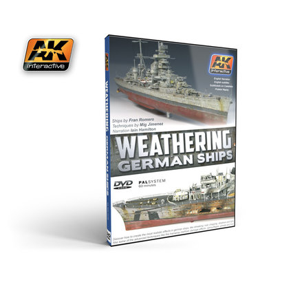 AK-650 DVD - Weathering German Ships