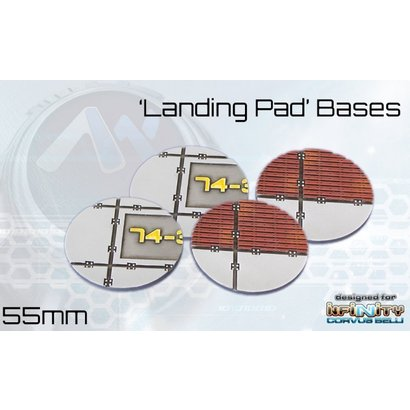 Landing Pad Round Bases 55mm