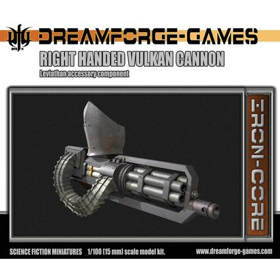 Leviathan Vulkcan Cannon RH - 15mm Scale
