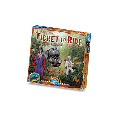 Ticket to Ride Map Collection: Vol.3 – The Heart of Africa