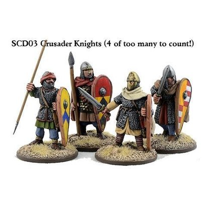 SCD03 Crusader Knights on Foot (Hearthguards)
