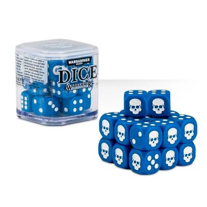 Dice Set Blue
