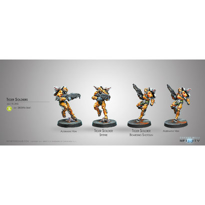 Tiger Soldiers (Spitfire / Boarding Shotgun)