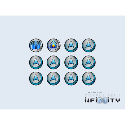 Infinity Tokens - Regular (Blue)
