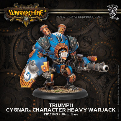 Triumph Heavy Warjack Upgrade Kit