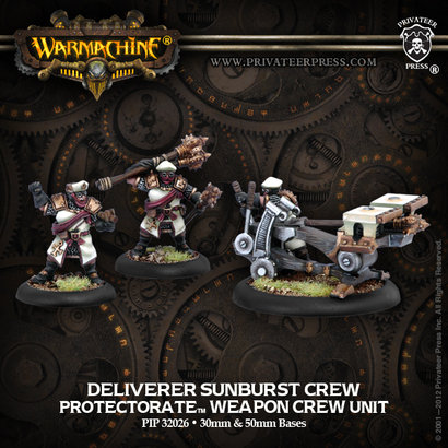 Deliverer Sunburst Crew Unit