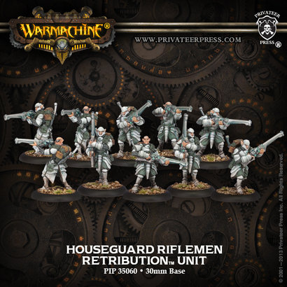 Houseguard Riflemen Unit