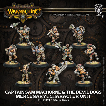 Captain Sam Machorne & the Devil Dogs Unit