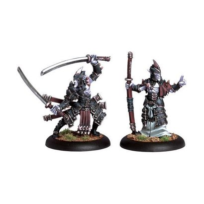 Blighted Swordsmen Abbot & Champion Unit Attachment