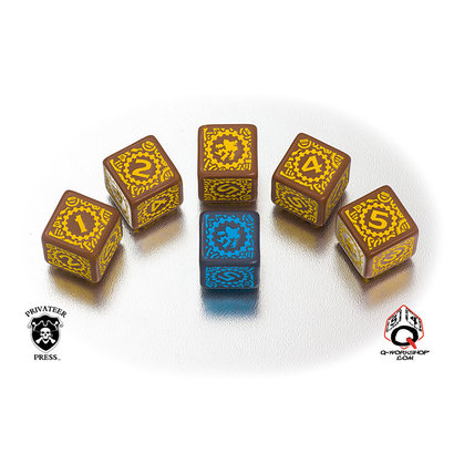 Iron Kingdoms Dice