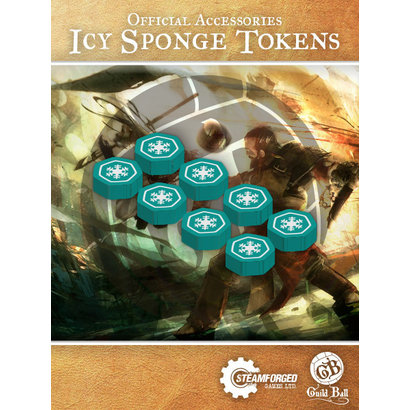 Guild Ball Icy Sponge Tokens