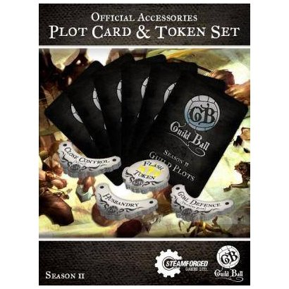 Guild Ball Plot Card & Token Set - Season 2