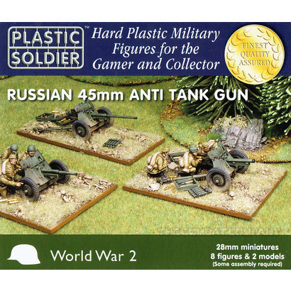 Soviet 45mm Anti Tank Guns - 28mm