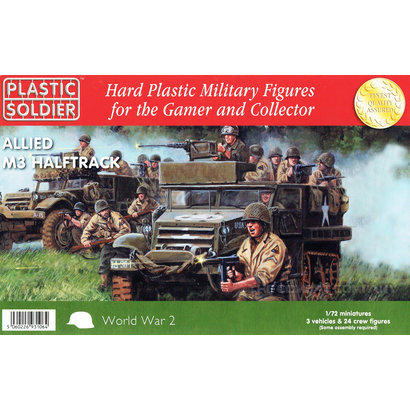 Allied M3 Halftrack - 1/72nd