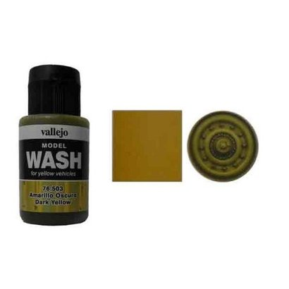 503 Wash - Dark Yellow
