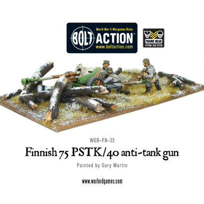 FN-32 Finnish 75 PSTK/40 Anti-Tank Gun