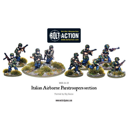 IA-39 Italian Airborne Paratroopers section