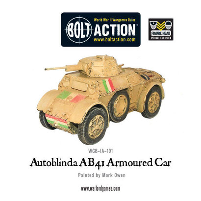 IT-101 Italian Autoblinda AB41 Armoured Car