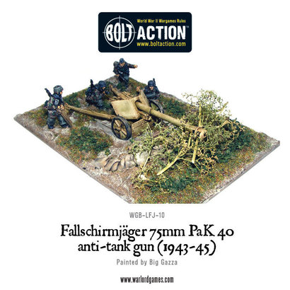 LFJ-10 German Fallschirmjäger PaK 40 anti-tank