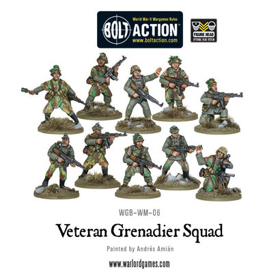 WM-06 German Veteran Grenadiers Squad