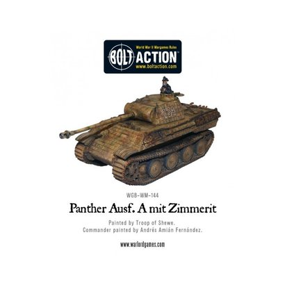 WM-141 German Panther Ausf A w/Zimmerit