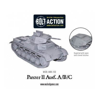 WM-156 German Panzer II