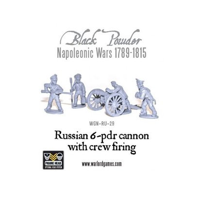 RU-29 Russian 6 pdr Cannon 1809-1815