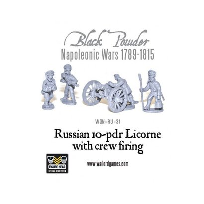 RU-31 Russian 10-pdr Licorne Howitzer 1809-1815