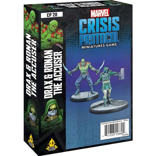 Marvel Crisis Protocol Miniatures Game Drax and Ronan the Accuser ...