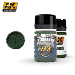 AK-148 Pigment - Faded Green