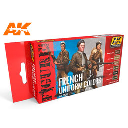 AK-3270 - French Uniform Colours Set