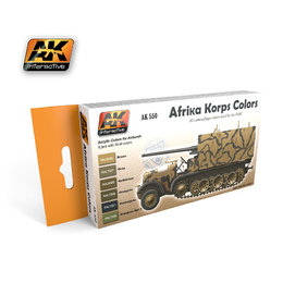 AK-550 Afrika Korps Colour Set
