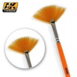 AK-580 Fan Shape Weathering Brush