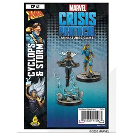 Marvel Crisis Protocol Miniatures Game Cyclops and Storm