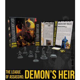 THE LEAGUE OF ASSASSINS: DEMON'S HEIR Bat Box